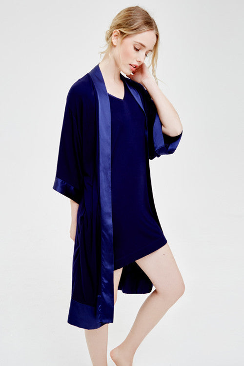 Blue Marmalade Beautiful Luxury Dressing Gown