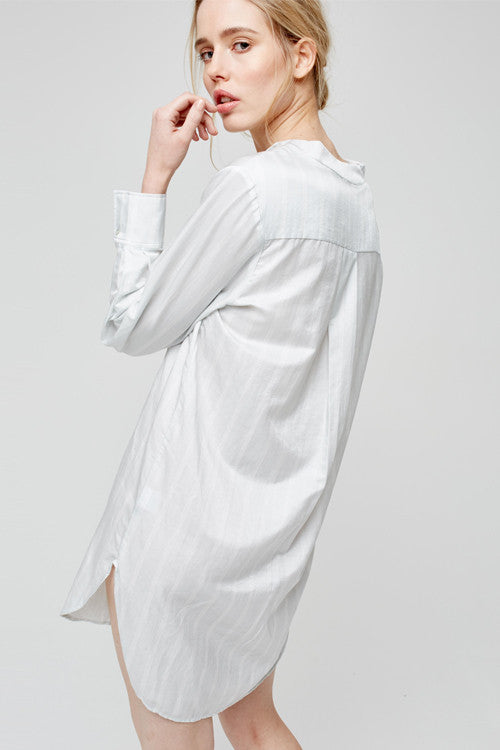 Blue marmalade luxury nightshirt