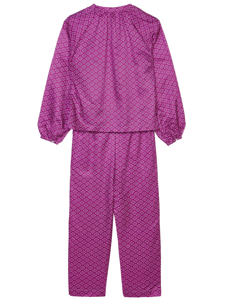 Clara Luxury PJ Set Damson