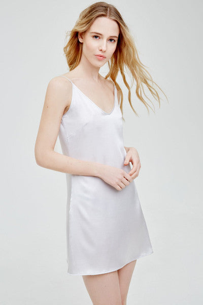 blue marmalade silk nightdress