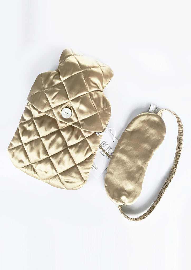 Silk Eye Mask Gold