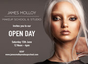 OPEN DAY: JAMES MOLLOY MAKEUP SCHOOL & STUDIO