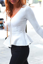 White Quilted Jacket