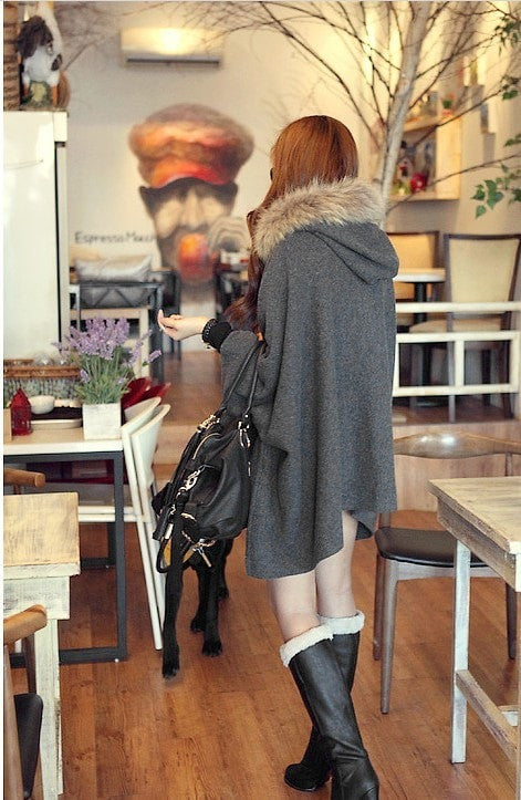 Wool Blend Capes