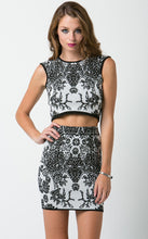 Knitted Jacquard Two Piece Set