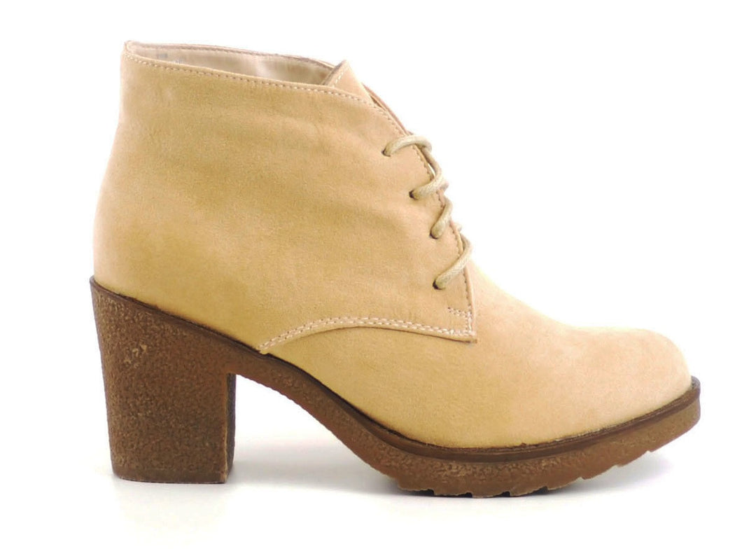 ankle boots suedette