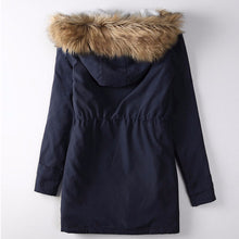 Parka With Faux Fur Trim Hood