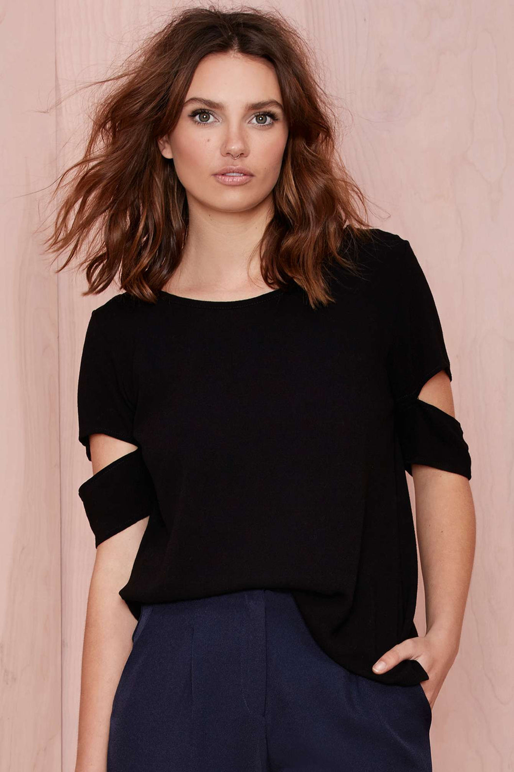 Drama Queen Black Top