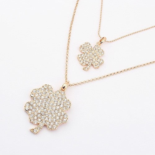 Double Clover Necklace