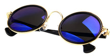 Reflective Statement Round Sunglasses