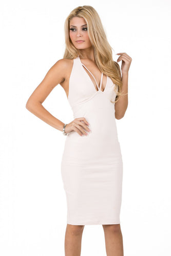 Ivory Bodycon Dress