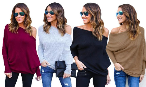 Women's Off-Shoulder Jumper