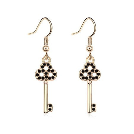 SWAROVSKI Crystal key Earrings