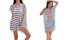 Striped Beach Kaftan