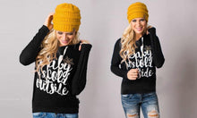 Women's Long-Sleeved Christmas-Themed Top or Hoodie