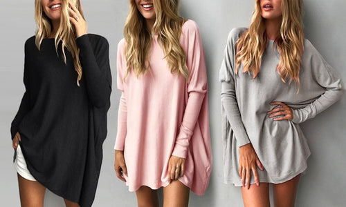 Oversized Cotton Jersey Top