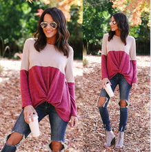 Twist Front Pullover