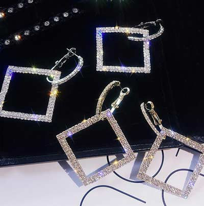 Art-Deco-Zeus-Square-Crystal-Earrings-colors-gold-silver