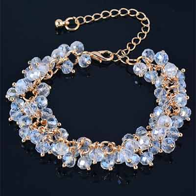 Crystal-Cluster-Adjustable-Bracelet-Colour-White
