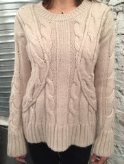 M.I.H Wool Cable Knit Jumper