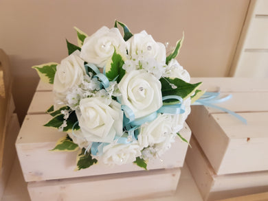 JADE Bridesmaid rounds bouquet