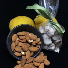 Italian Lemon Almond Cookies with whole lemons and almonds