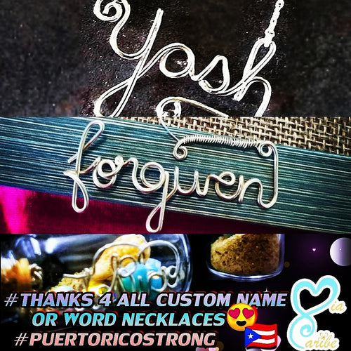 Wired Custom Name Necklace