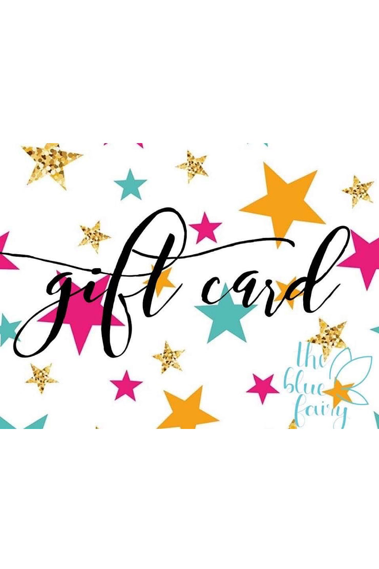 Blue Fairy Gift Card - The Blue Fairy