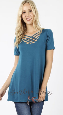 Got My Hearts Attention Tunic Top