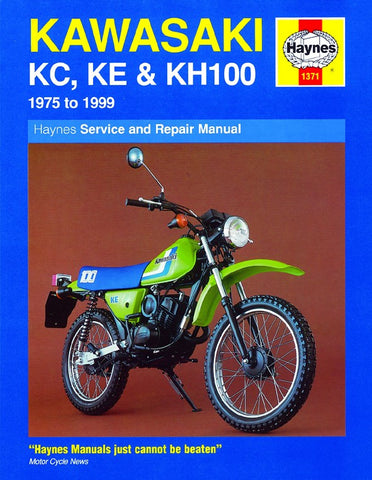 Haynes Manual Kawasaki KC100,KE100,KH100 75-99