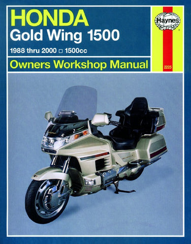 Haynes Repair Manual Honda GL1500 Gold Wing (88-00)