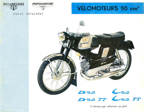 Mobylette C52 D - D C52TT Download Parts Manual in French DOWNLOAD