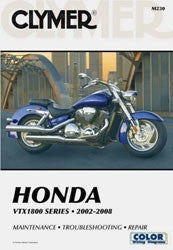 Clymer Manuals Honda VTX1800 Series, 2002-2008 M230