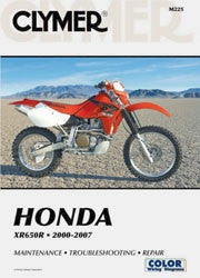 Clymer Manuals Honda XR650R 2000-2007 M225
