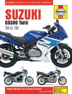 Haynes Manual Suzuki GS500 Twin (89-08)