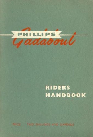 Phillips P45 Gadabout Moped Riders Handbook on CD