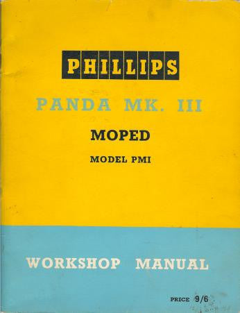 Phillips Panda MK III PM1 Workshop Manual DOWNLOAD COPY