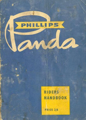 Phillips Panda Riders Handbook on CD
