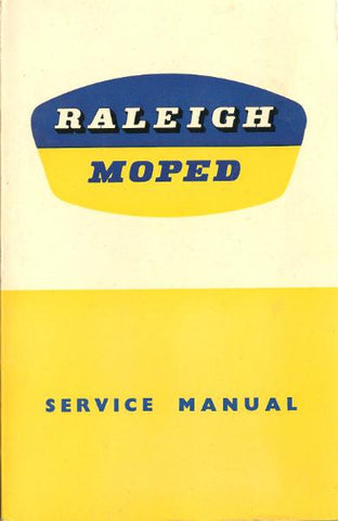 Raleigh RM1 and RM2 Moped Service Manual CD COPY