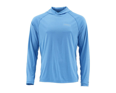 Simms Solarflex Hoody Pacific Heather Long Sleeve Shirt