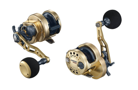 Maxel Hybrid 20 Gunsmoke / Black Slow Pitch Reel