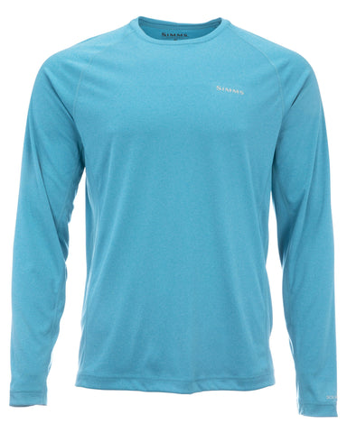 Simms Solarflex Long Sleeve Crewneck Meridian Heather