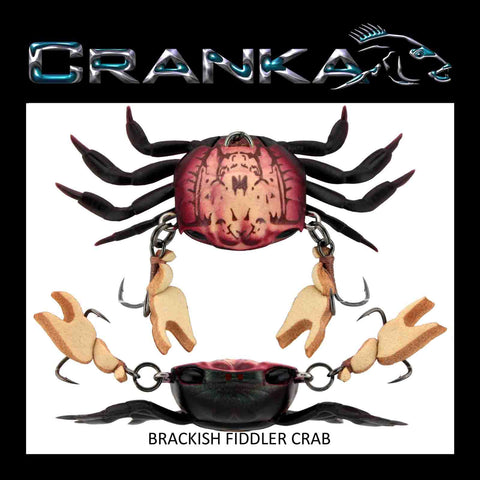 Cranka Crab 50mm 5.9g Heavy - Compleat Angler Nedlands