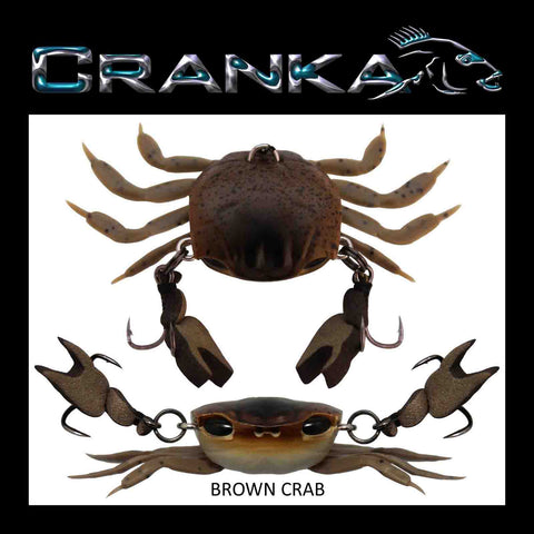 Cranka Crab 50mm 3.9g Light - Compleat Angler Nedlands