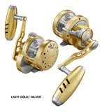 Maxel Rage 60H Light Gold / Silver Slow Pitch Jigging Reel