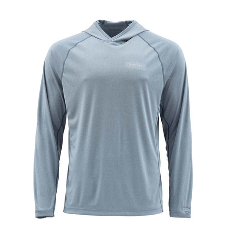 Simms Solarflex Hoody Storm Heather Long Sleeve Shirt