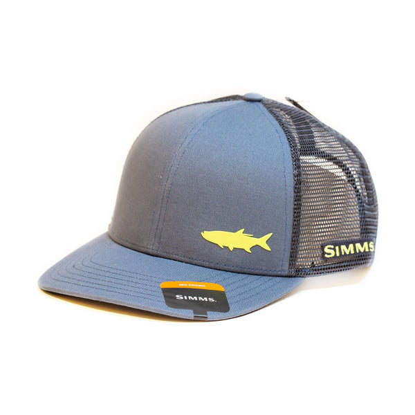Simms Payoff Trucker Tarpon Storm Cap - Compleat Angler Nedlands