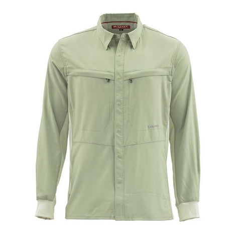 Simms Intruder BiComp Long Sleeve Shirt Sagebrush