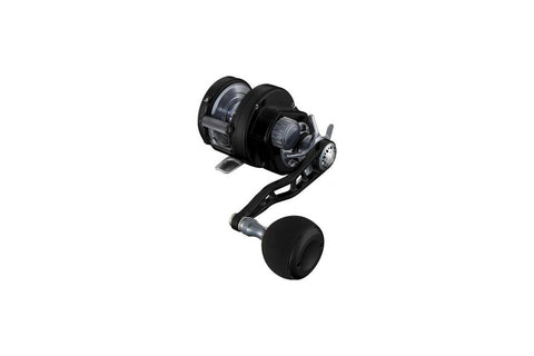 Maxel Hybrid 25C Gunsmoke / Silver Slow Pitch Jigging Reel