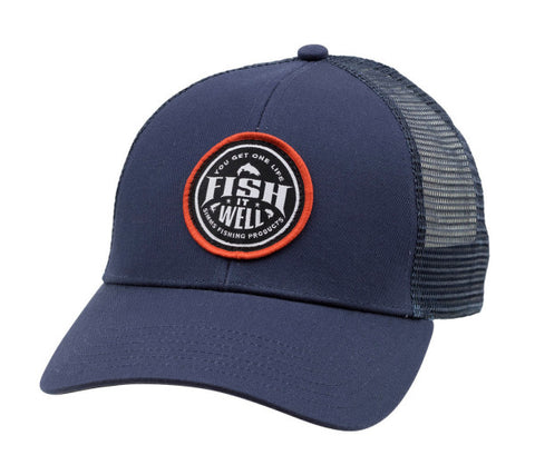 Simms Fish It Well Trucker - Dark Moon